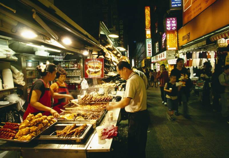 Kore'de köpek eti yeme yarışması