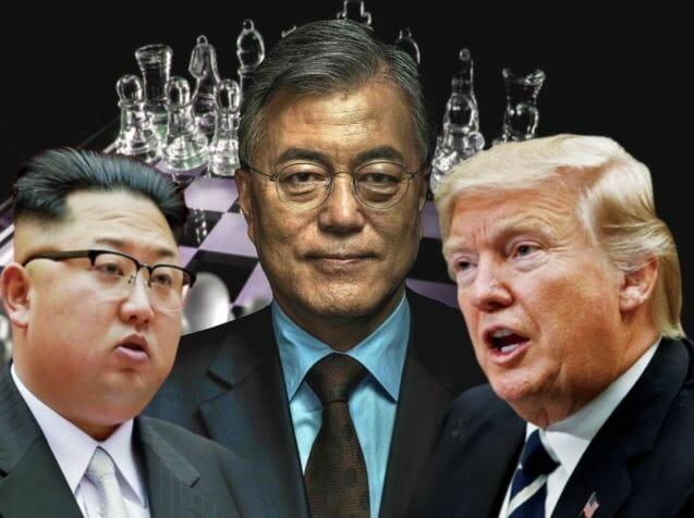 Trump Kuzey Güney Kore liderleriyle görüşecek