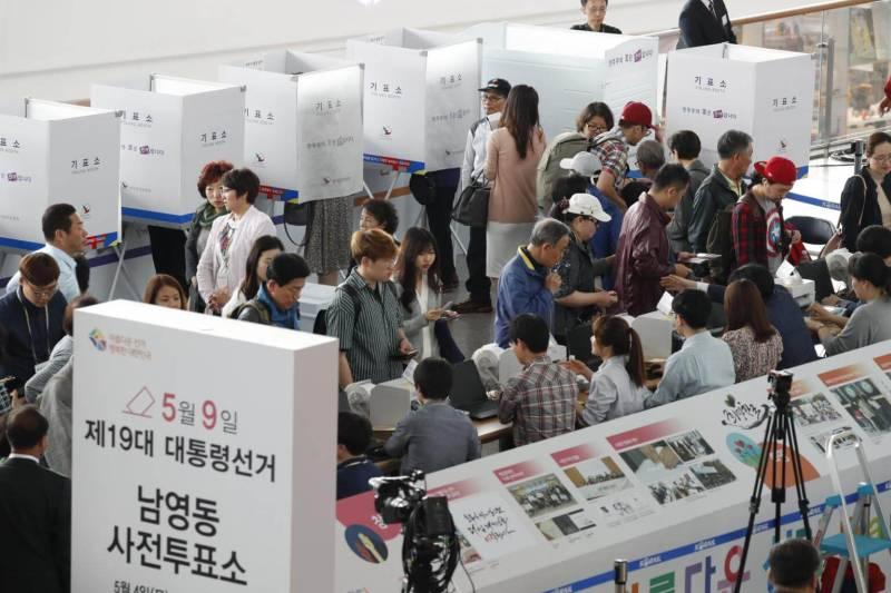 Kore iktidar partisi yerel secimde sildi supurdu