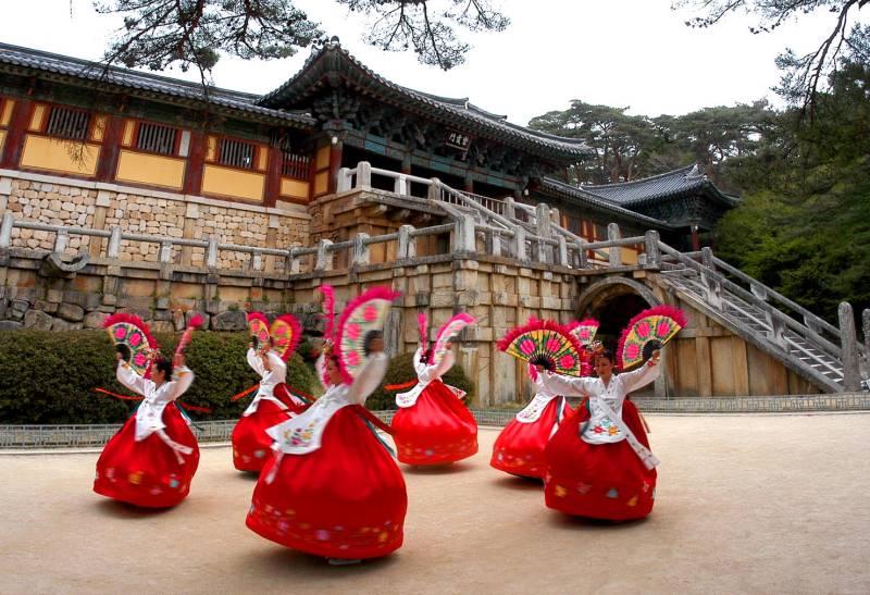 Kore için 14 günlük gezi