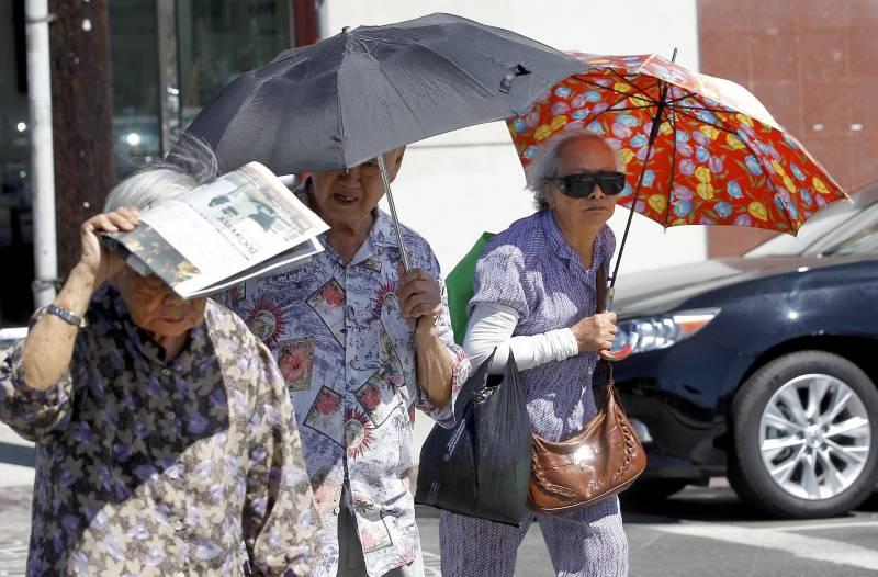 Kore'de aşırı sıcaklar