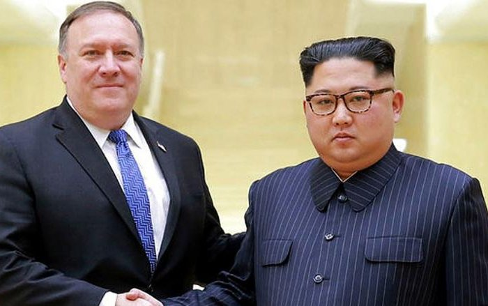 Mike Pompeo Kim Jong