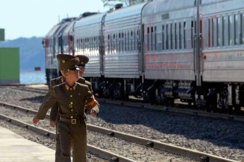 demiryolu icin iki kore bulustu