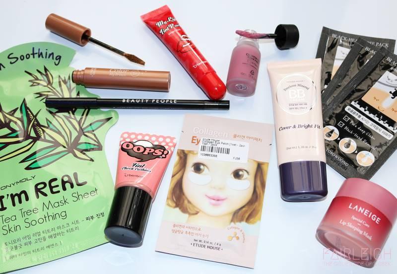 kozmetik ihracatında Kore