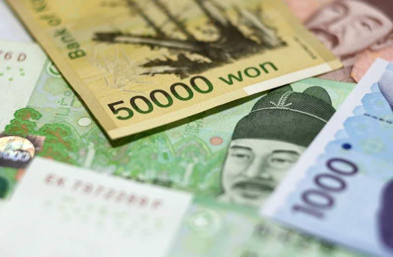 Kore'de enflasyon rakamları