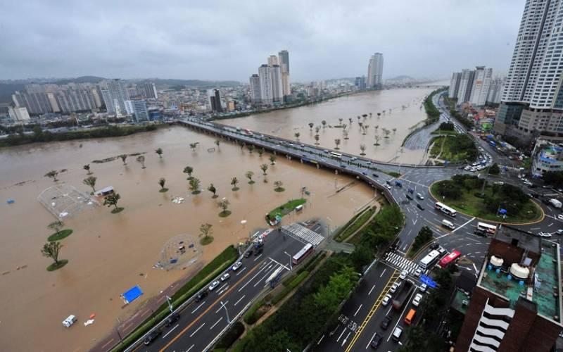 Kore'de tayfun alarmı