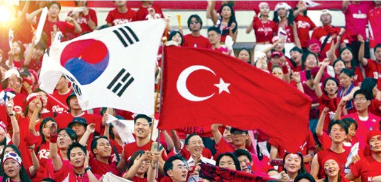 Kore Türkiye kardeş