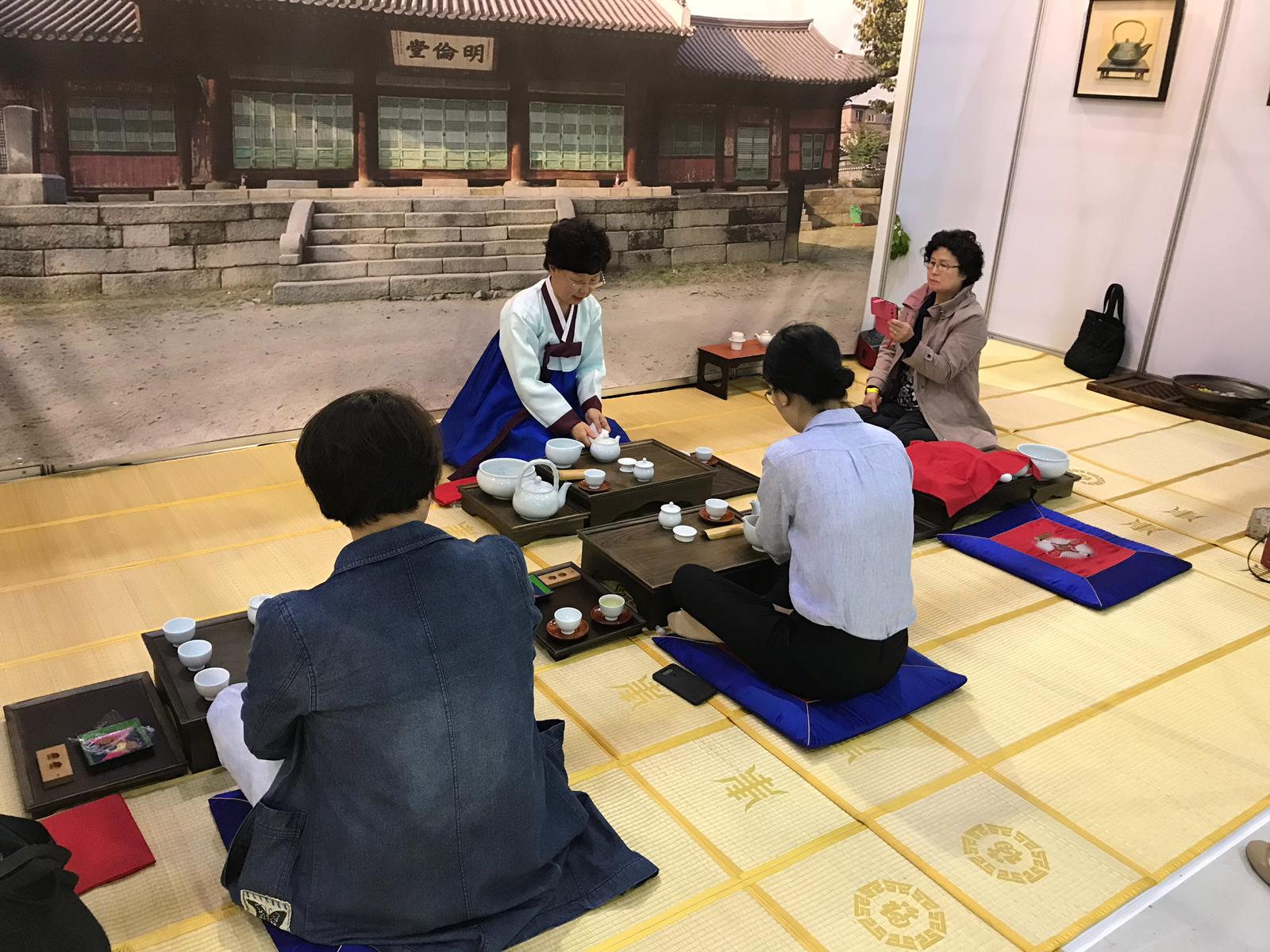 Kore'de çay kültürü