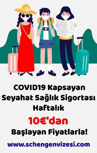 Covid19 içeren seyahat sigortası - Schengenvizesi.com