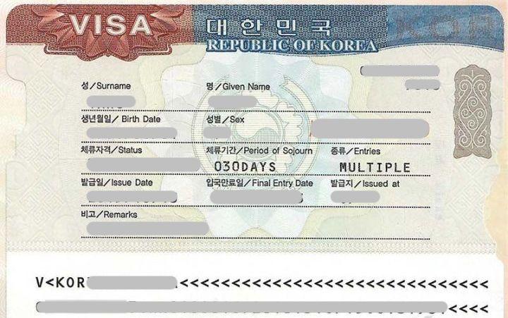 Kore vizesi şartları değişti