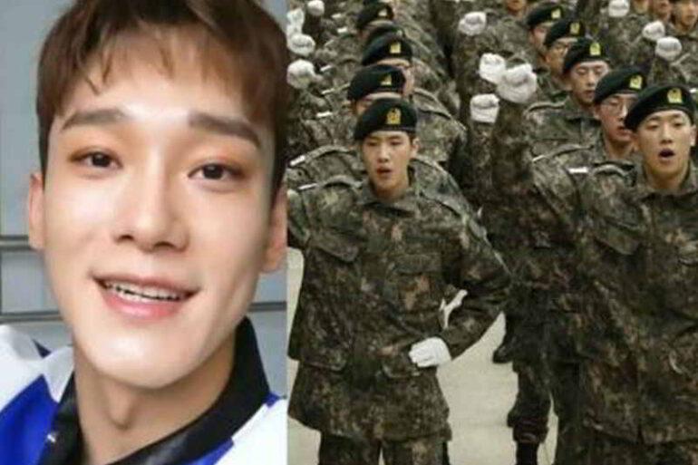 Kore'de askerlik - EXO Chen askere gidiyor