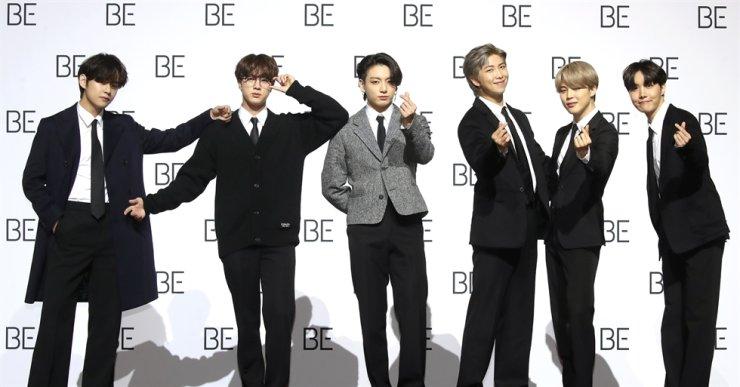 kore kpop bts yeni albümü BE