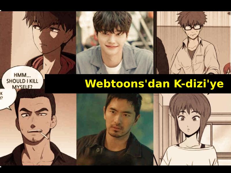 Webtoon K-dizi