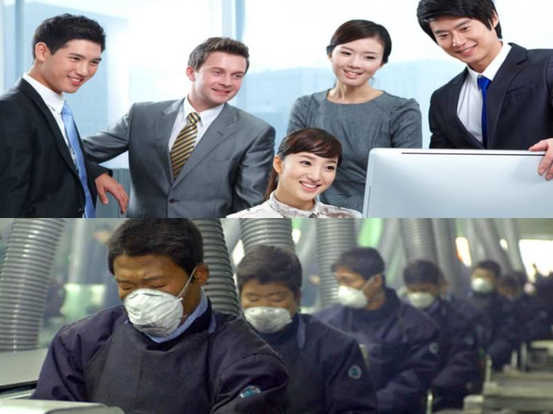 Güney Kore beyaz yakalı maaşları