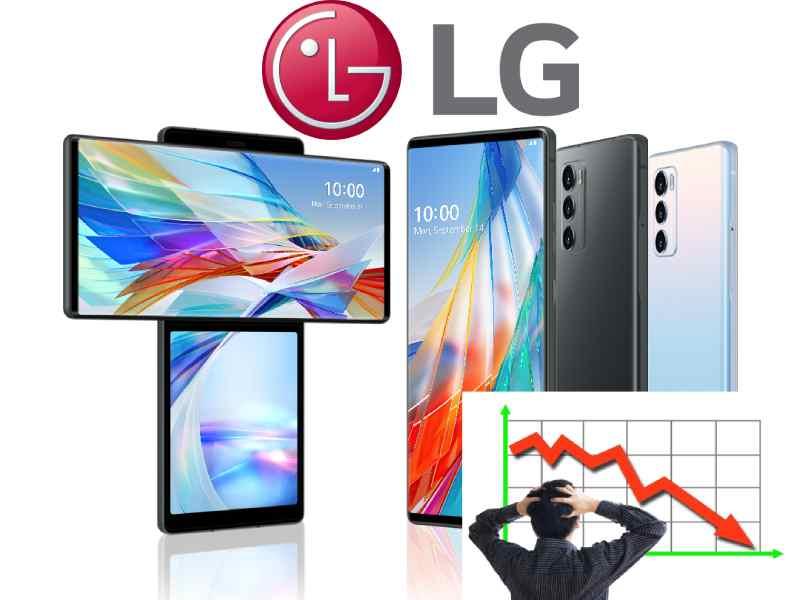 LG cep telefonu pazarından çıkıyor