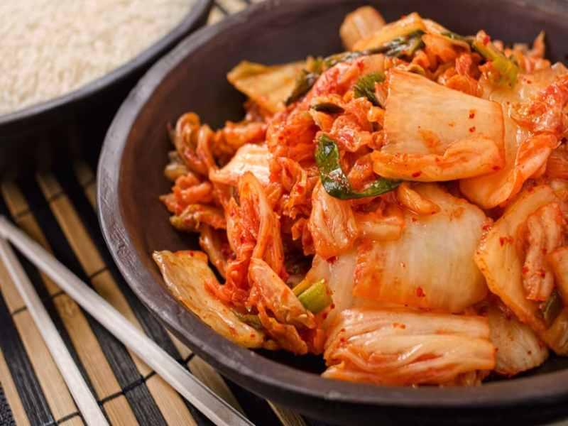 Koreliler Pirinçten Daha Çok Kimchi Yiyor