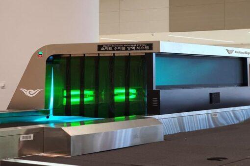 Incheon Havaalanında Ultraviyole Bagaj Dezenfeksiyon Sistemi [Dünyada İlk]