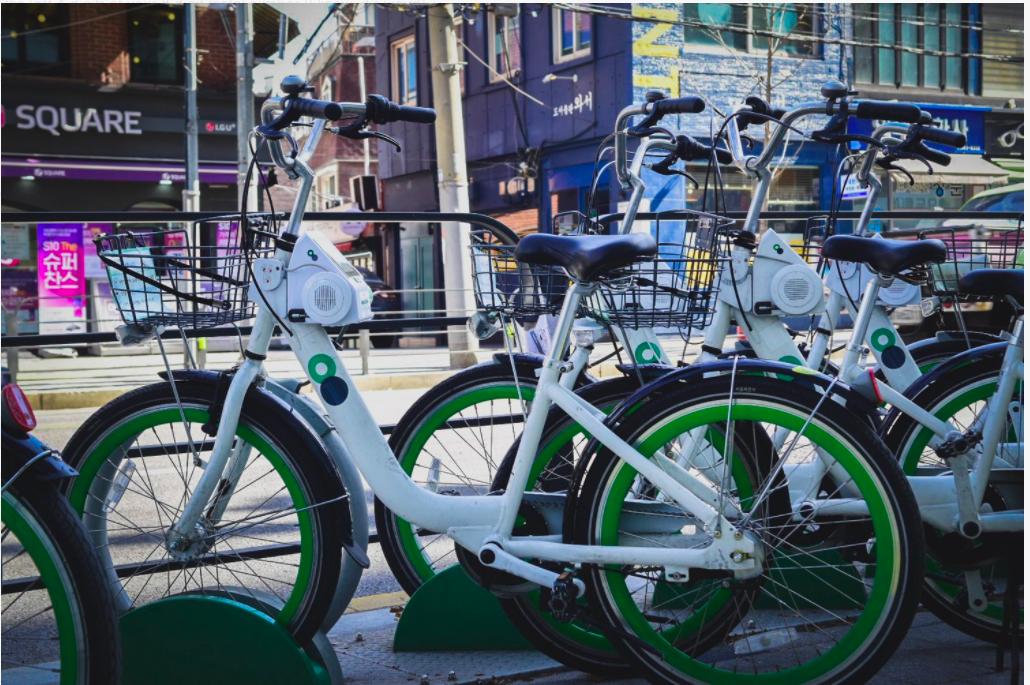 Seul'da Her 3 Kişiden 1'i Bisiklet Kiralıyor